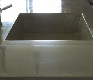 small concrete sink 7