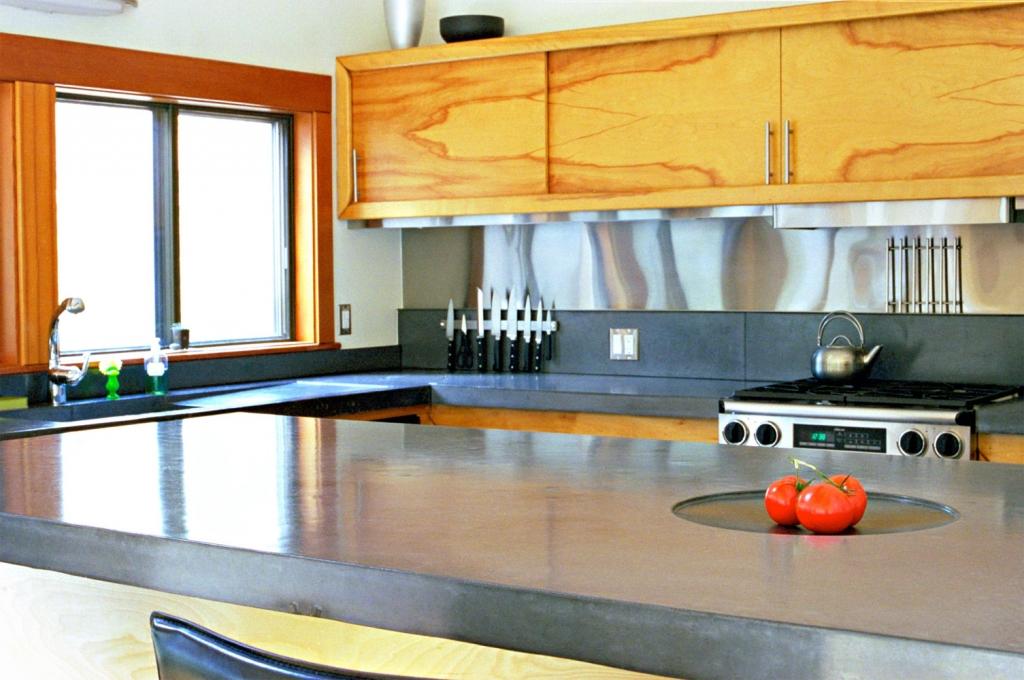 Concrete Kitchen Countertops - Commercial & Residential Kitchen ...