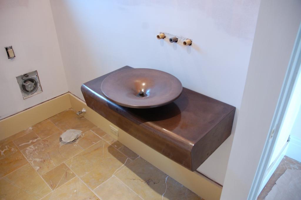 Concrete Sinks stone soup concrete sinks - small concrete sinks - new england